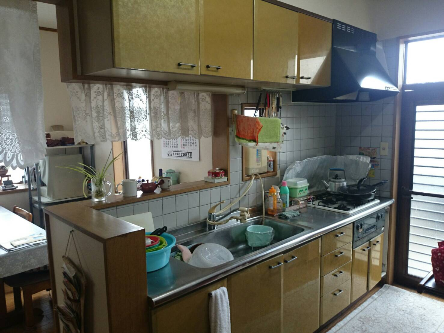 キッチン交換