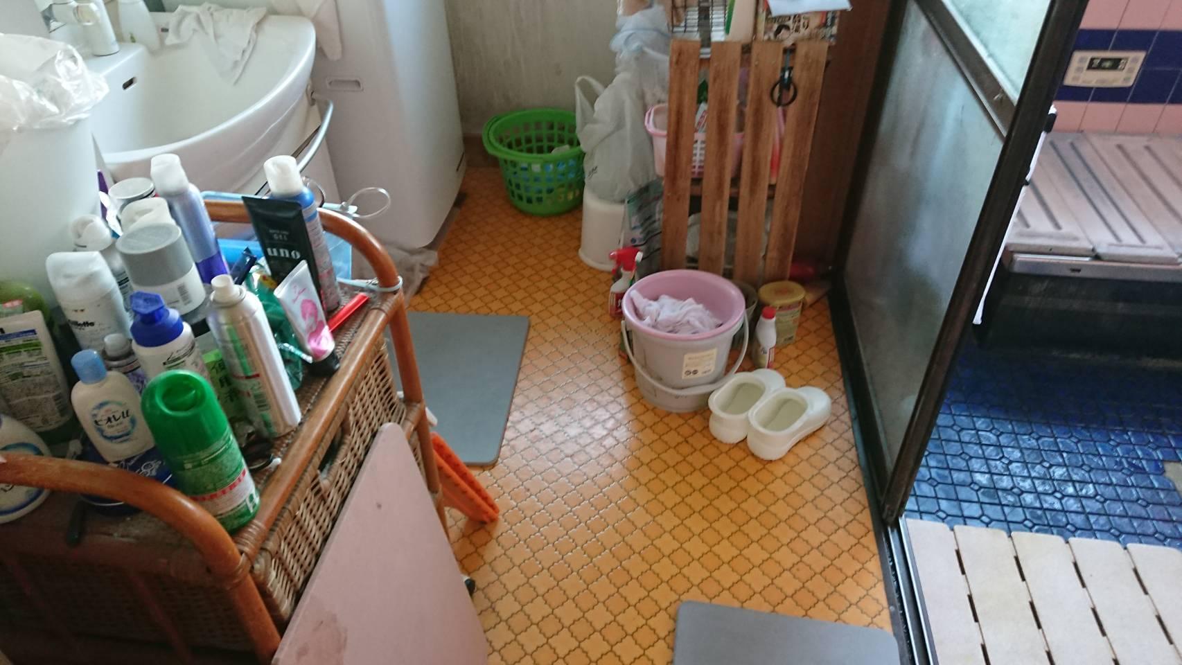 脱衣洗面所のリフォーム