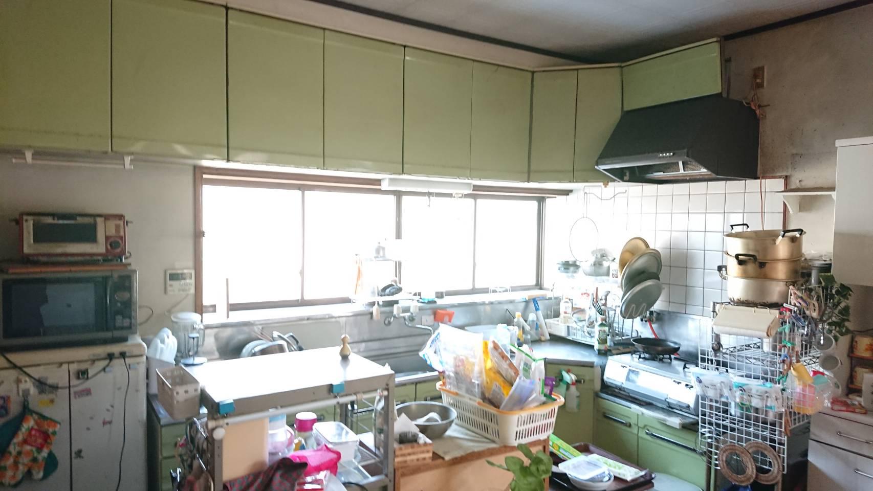 システムキッチン工事